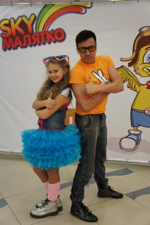 Алина Овчаренко и Алексей Семенов